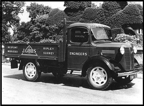 An Austin lorry designed and built by Gibbs for their own use.