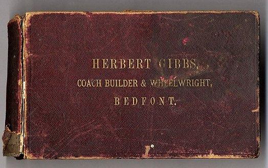 Herbert Gibbs pattern book.
