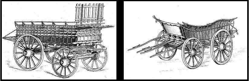 Wagon designs.