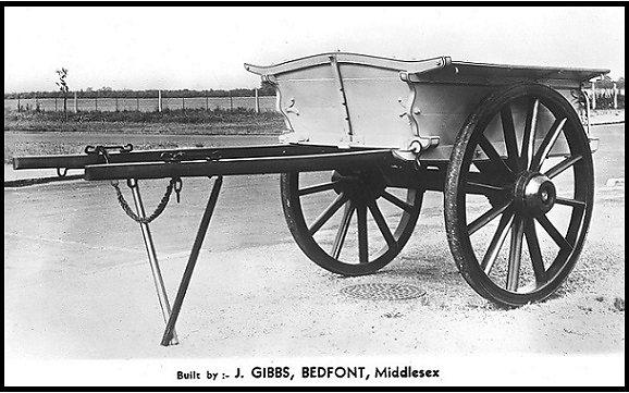 A dung cart built by Gibbs